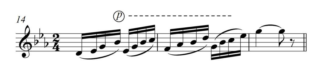 Аппликатура для саксофона