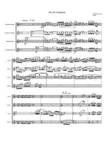 Gianfranco Gioia. Sax & Company. Квартеты саксофонов