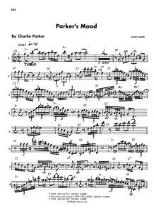 Charlie Parker - Omnibook Eb