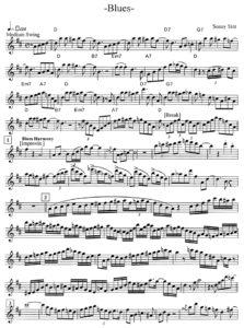 Саксофон в джазе
