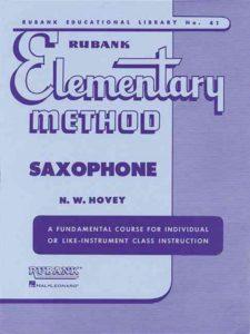 N.W. Hovey. Elementary Method Saxophone