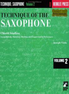 Sax Book. Joseph Viola. Technique Of The Saxophone 2