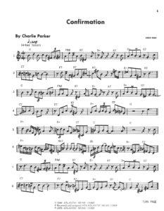 Charlie Parker. Omnibook for B Flat Instruments