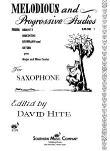 David Hite. Melodious and Progressive Studies