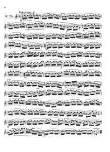 25 этюдов для саксофона. Hyacinthe Eleanore Klose