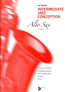 Джазовая концепция для саксофона альт. Jim Snidero