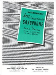 Джазовая концепция для саксофона. Lennie Niehaus