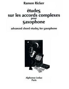 Упражнения для продвинутой техники игры на саксофоне. Ramon Ricker