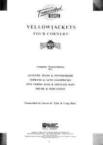 Yellowjackets – Four Corners